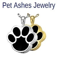 pet jewelry for ashes
