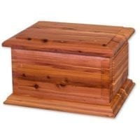 Cedar Boston II Cremation Urn