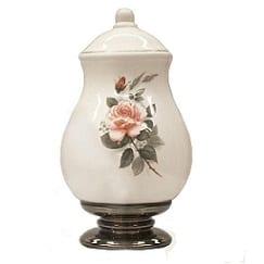Ceramic Urn Rose Pink