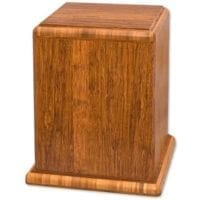 Designer Bamboo Wooden Urns for Ashes
