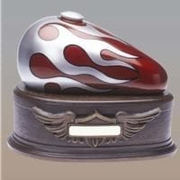 Born to Ride Urn Red