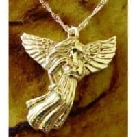 Angel Cremation Pendant for Ashes