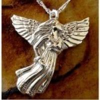 Angel Urn Necklace