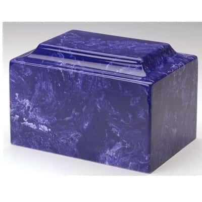 Cobalt Burial Urn