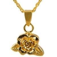 Rose Urn Necklace