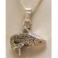 Fish Urn Necklace