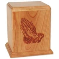 Newport Praying Hands Urn