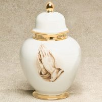 Eternal Praying Hands Urn