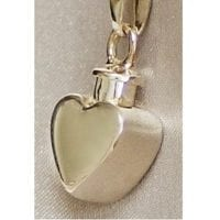 Small Heart Urn Necklace