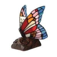 Butterfly Light Keepsake Urn Blue
