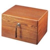 Devotion Oak Cremation Box