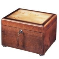 Reflection Memory Chest Urn Cherry