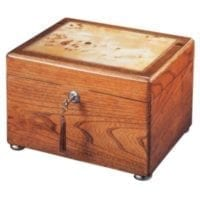 Reflection Oak Memory Chest Urn
