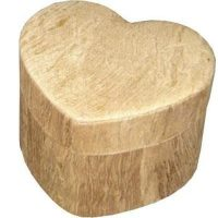 Earthurn Biodegradable Wood Heart Urn