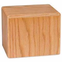 Cube Wooden Urns for Ashes