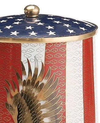 american flag eagle urn