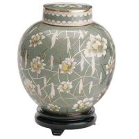 Pear Blossom Cremation Urn