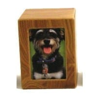 Pet Photo Urn Small – Natural