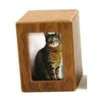 Pet Photo Urn Extra Small Natural