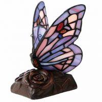 Butterfly Light Keepsake Urn Purple