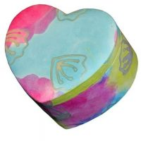 Pastel Heart Biodegradable Urn