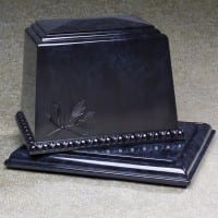 Millennium Urn Vault Black