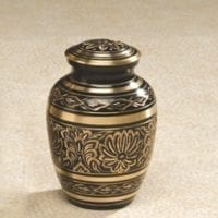 Gee Motif Small Urn