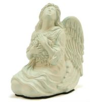 Angel Urn White Small