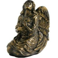 Angel Urn Bronze Finish Keepsake