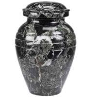 Classic Black Marble Urn