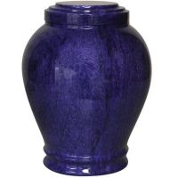 Marble Urns for Ashes Blue