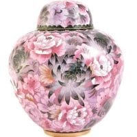 Floral Blush Small Urn