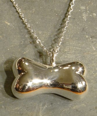 Dog Bone Necklace For Ashes