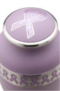 cancer awareness urn