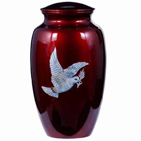 Dove Urn for Ashes