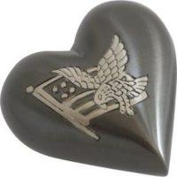 American Pride Heart Urn