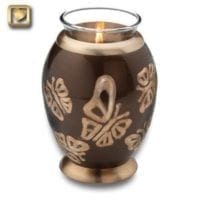 Butterflies in Flight Candle Urn