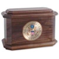 Diplomat Military Urn Walnut
