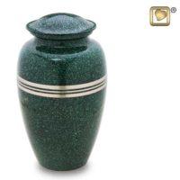 Speckled Emerald Urn