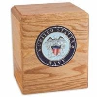 Freedom Military Urn Oak