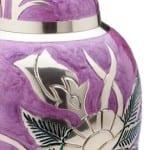 lilca rose cremation urn