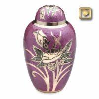 Lilac Rose Urn