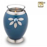 Nirvana Azure Candle Urn
