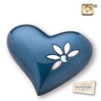 Heart Urn Nirvana Azure