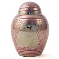 Teddy Bear Pink Urn