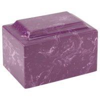 Purple Marble Urn