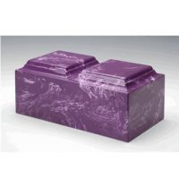 Urn for Two Amethyst