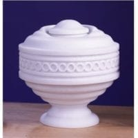 Infinity Marble Cremation Urn