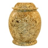 Dome Fossil Marble Urn
