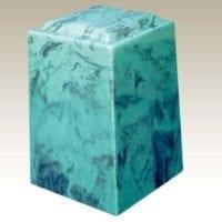 Emerald Aegean Marble Urn